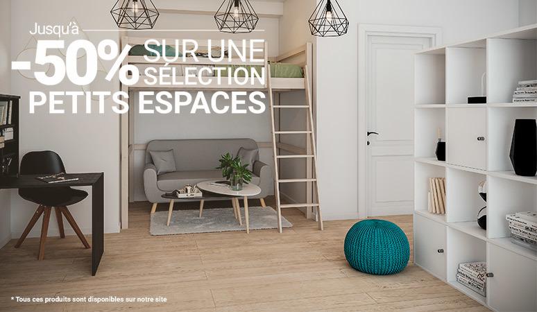 Jusqu'à -50% sur une sélection Spécial petits espaces