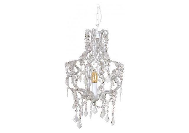 declikdeco digne des d corations du d but du si cle le lustre style baroque blanc h105. Black Bedroom Furniture Sets. Home Design Ideas