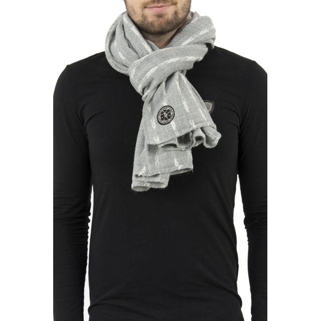 Le Temps des Cerises - Foulards lazare gris - pas cher Achat   Vente  Echarpes, foulards - RueDuCommerce a96278f5273