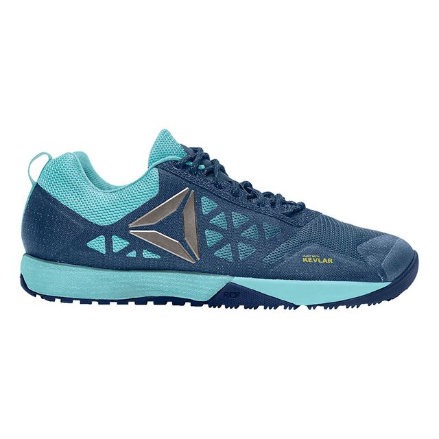 638e98393594f1 Reebok - Chaussures CrossFit Nano 6.0 bleu femme - pas cher Achat   Vente  Chaussures fitness - RueDuCommerce
