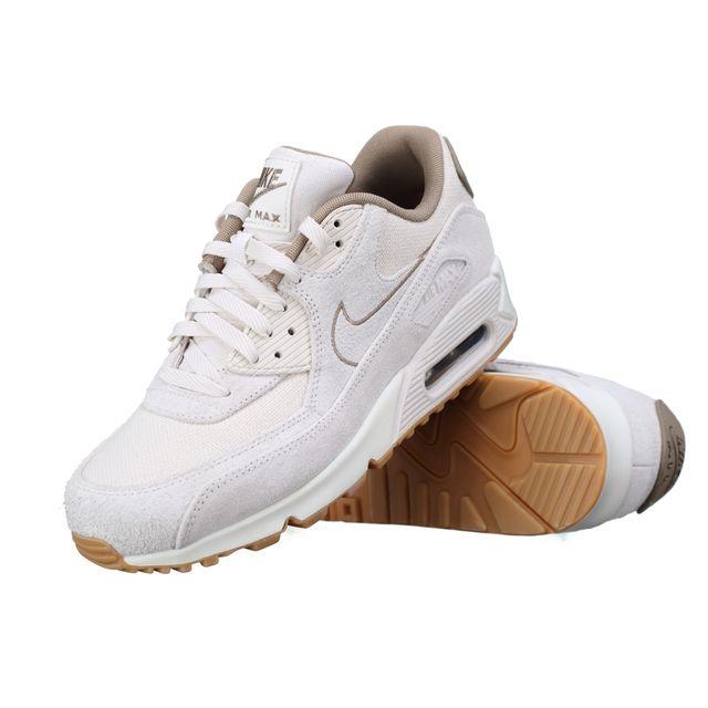 info for d2251 c857d Nike - Basket Air Max 90 Premium 700155 - 004 Beige