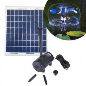 sellande pompe solaire 980l h pour bassin et fontaine alimentee par panneau solaire pas cher. Black Bedroom Furniture Sets. Home Design Ideas