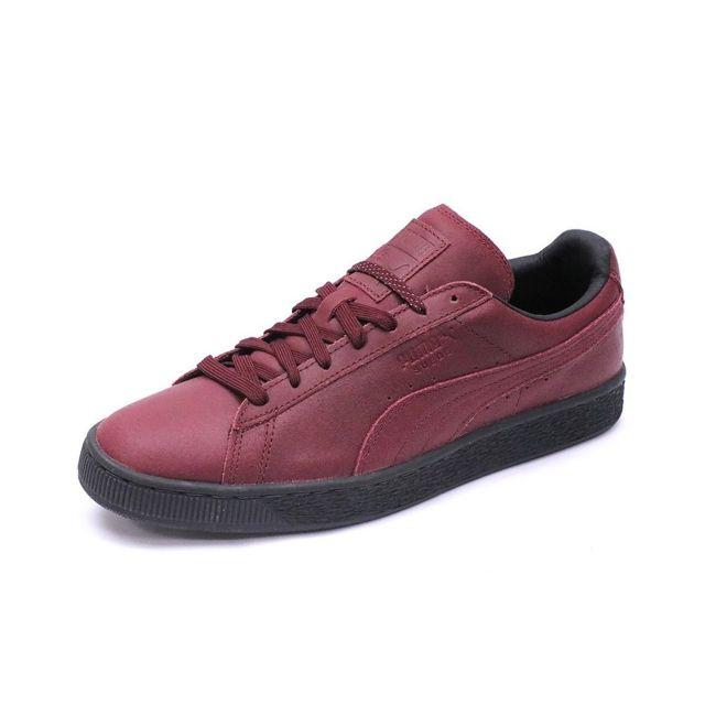 Chaussures Suède Classic Winterized Rouge Homme Multicouleur 41