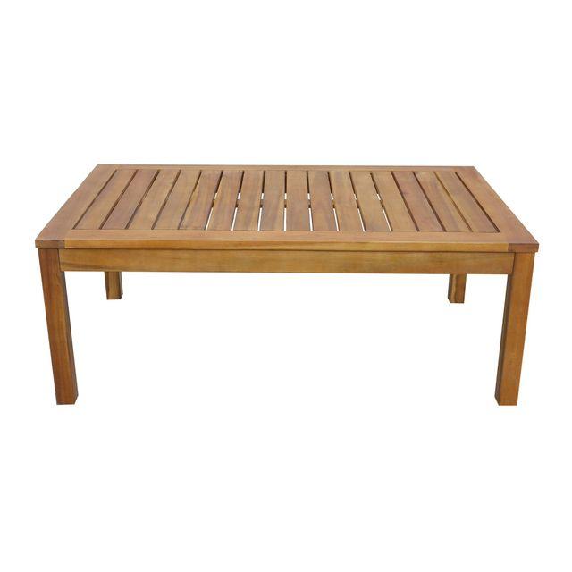 Alinéa - Cocoon Jardin Table basse de jardin en acacia - pas ...