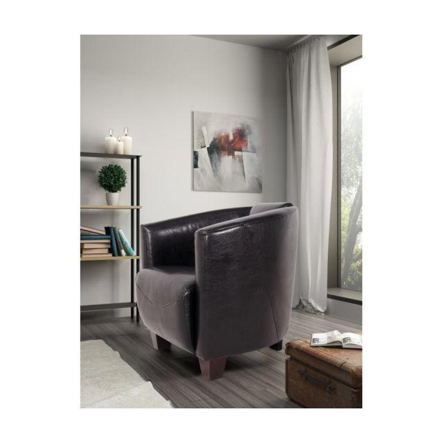 Rocambolesk Fauteuil Havana 1 Bycast noir sofa divan