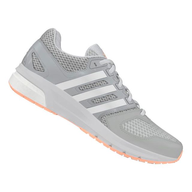 reputable site fc8f1 4ddcb Adidas - Chaussures Questar gris corail femme - pas cher Achat  Vente Chaussures  running - RueDuCommerce