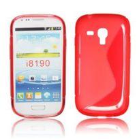 Bluetrade - Coque Tpu type S pour Samsung Galaxy S3 mini si8910-rouge
