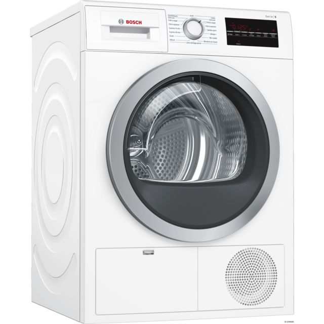 Bosch Sèche-linge à condensation - WTG86409FF - Blanc