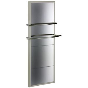 verelec radiateur radiant s che serviettes miroir 600w blanc pas cher achat vente s che. Black Bedroom Furniture Sets. Home Design Ideas