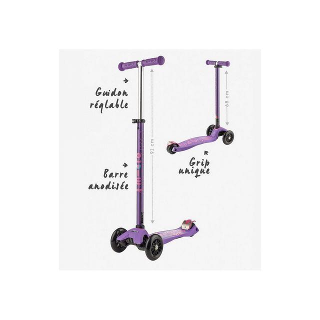 Micro Trottinette Maxi Deluxe Violet