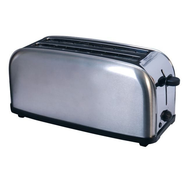 SILVER STYLE grille-pains 2 fentes 1400w inox - 000320