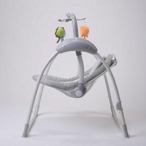 Balancelle / transat bébé Electrique LILOU 2 : MP3 + télécommande + chargeur