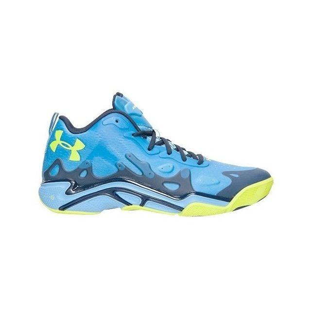 68348ea103 Under Armour - Chaussure de Basket Anatomix Spawn Low 2 Bleu ...