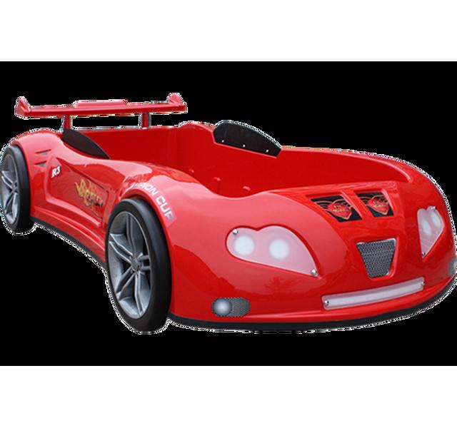 CHLOE DESIGN Lit enfant voiture sport Airfree - rouge