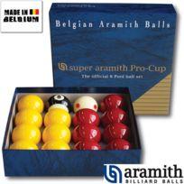 Aramith - Billes Pool Super Pro 50,8 mm