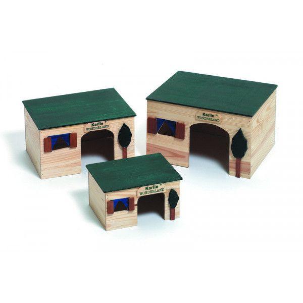 Karlie flamingo maison pour rongeurs house <strong>ecco</strong> longueur 18 cm largeur 14 cm hauteur 10 cm