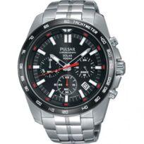 Pulsar - Montre pour Homme Sport Chronographe Solaire - Pz5005X1