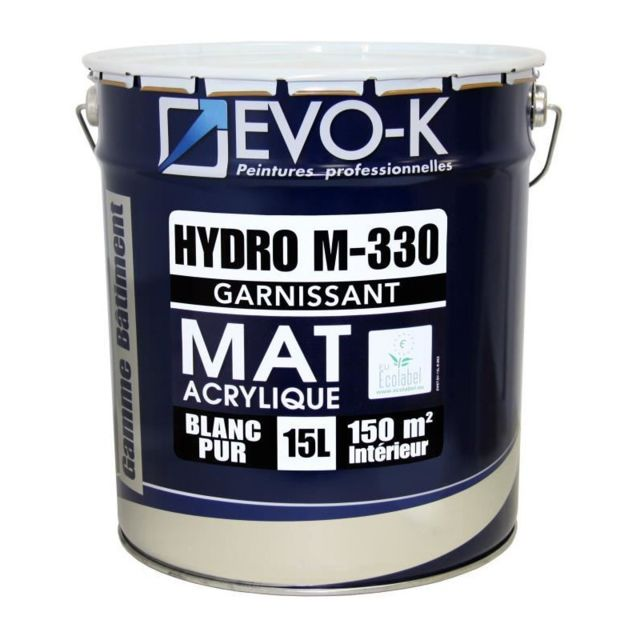 Evo K Peinture Monocouche Murs Et Plafonds Hydro M330 15 L