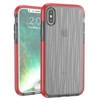 Coque gris et Orange pour iPhone X D30 + Tpu Moire Motif Téléphone Étui de  Protection 67341b3ecda
