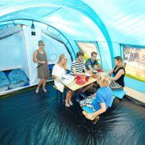Helsinki - Tente familiale tunnel - 525 x 410 cm - 6 personnes