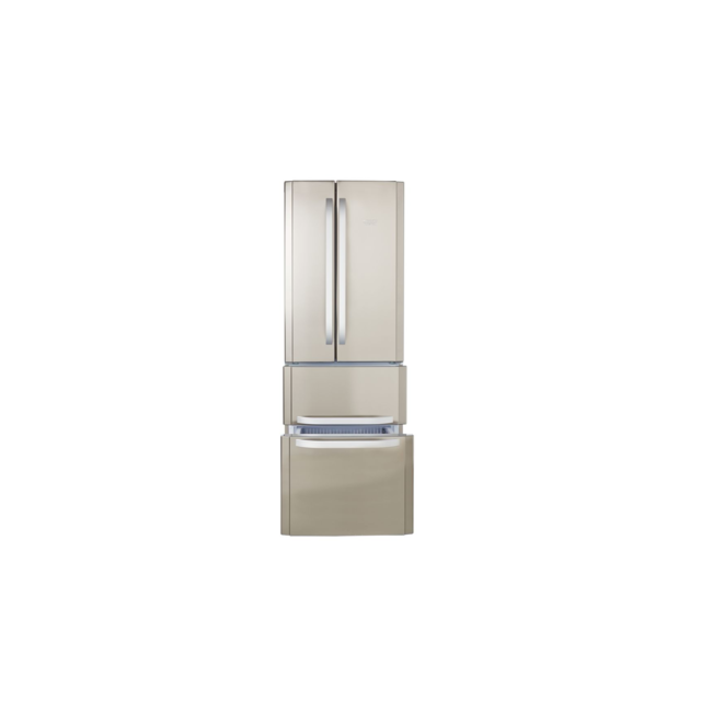 HOTPOINT - Réfrigérateur deux portes - E4D AA X C - Inox