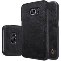 Nillkin - Etui à rabat Qin noir Samsung Galaxy S7 Sm-g930 avec logement carte