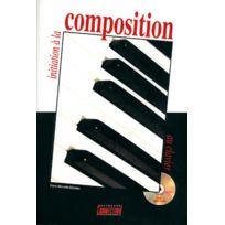 Play Music Publishing - Méthodes Et Pédagogie Minvielle-sebastia P Initiation A La Composition + Cd - Clavier Clavier Numérique
