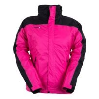 Izas - Veste Annapurna Shell Jacket fuscia noir femme