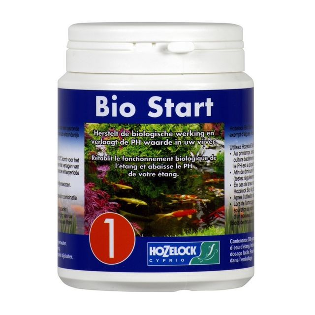 Hozelock Bio Start 1 pour améliorer l eau de bassin 1000gr