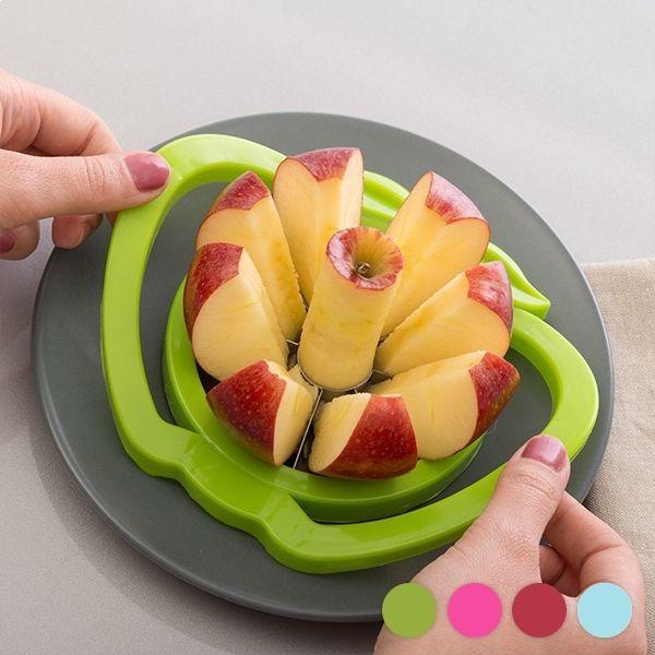 Totalcadeau Découpeur de pommes ustensile decoupe facile