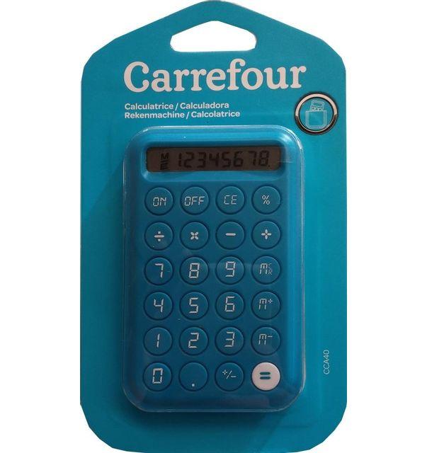 carrefour calculatrice de poche cca40 pas cher achat vente calculatrices classiques. Black Bedroom Furniture Sets. Home Design Ideas