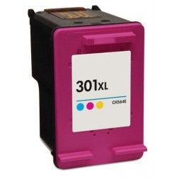 marque generique hp n 301xl cartouche de couleur compatible pas cher achat vente cartouche. Black Bedroom Furniture Sets. Home Design Ideas