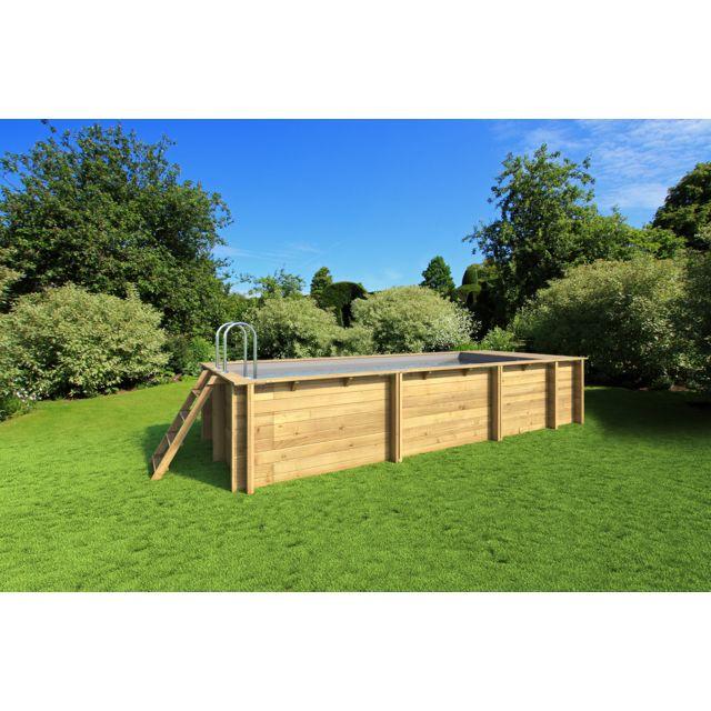 Proswell Piscine Bois Pool N Box 6 2x2 5 Gr Ht 133 Pas Cher