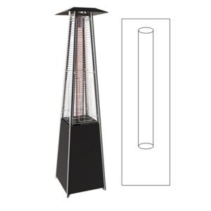 proweltek tube en verre de rechange pour parasol chauffant keops flamme pas cher achat. Black Bedroom Furniture Sets. Home Design Ideas