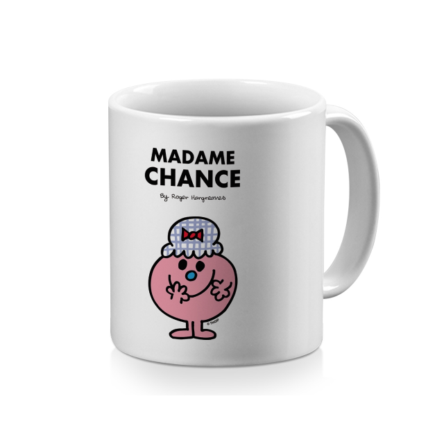 mug blanc monsieur madame mme chance pas cher achat vente mug rueducommerce. Black Bedroom Furniture Sets. Home Design Ideas