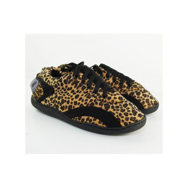 Happy Feet - Chaussons Leopard All Around z - pas cher Achat   Vente ... ac2e3a04a77a