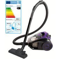 DOMOCLIP - aspirateur sans sac aaad 85db violet/noir - doh111vi