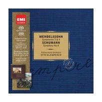 Emi Classics - Mendelssohn : Symphonies, n 3 et 4 / Schumann : Symphonie n4