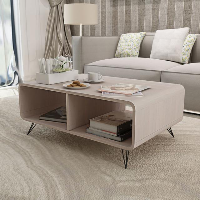 vidaxl table basse 90x555x385 cm bois gris 55cm x 90cm x 38cm pas cher achat vente tables basses rueducommerce