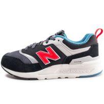 brand new e49ee d9388 New Balance - 997 Noire Et Rouge Enfant