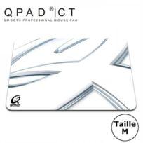 Qpad - Tapis de souris Ct Médium, Blanc, 4 mm