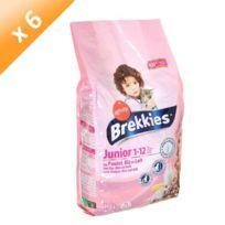 Brekkies - Croquettes Excel pour chat junior 15kg -x6