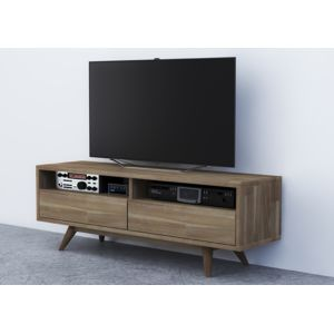 Envie de meubles meuble tv scandi en bois massif pas for Envie de meuble