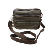 Chaussmaro - Sac Sacoche ceinture banane compacte a bandouliere epaule en cuir de Vachette 13x16cm