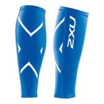 2XU - Collants Compression Calf Guard Lycra bleu