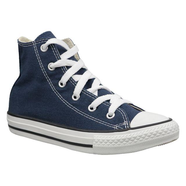 Converse C. Taylor All Star Youth Hi 3J233 Bleu pas cher