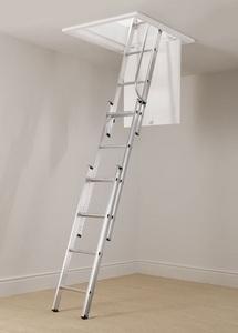 Escalier escamotable aluminium 3 plans Cent450511