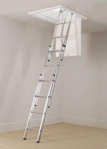 Centaure escalier escamotable aluminium 3 plans - Escalier escamotable aluminium ...