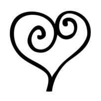 Cart Us - Cart-us Tampon Coeur Marron