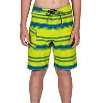Volcom - Boardshort Stone Mod Stripe - Lime